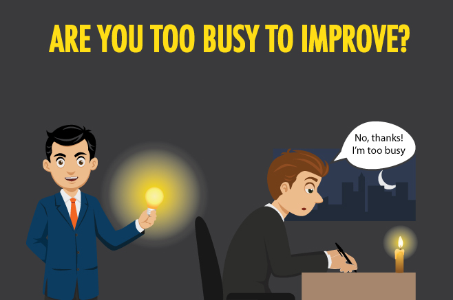 Are you too busy to keep up?